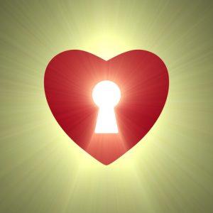 מנעול בתוך הלב לשחרר את האהבה העצמית