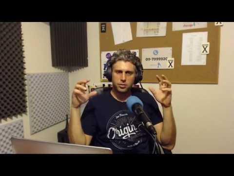 אלי קרסניץ בזמן טיפול רגשי ברדיו